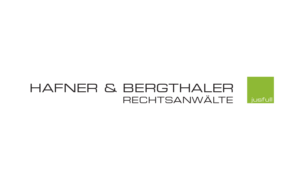 Corporate Design Hafner & Bergthaler Rechtsanwälte