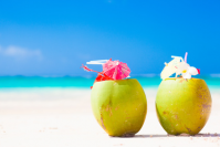 Kokosnussdrink Strand