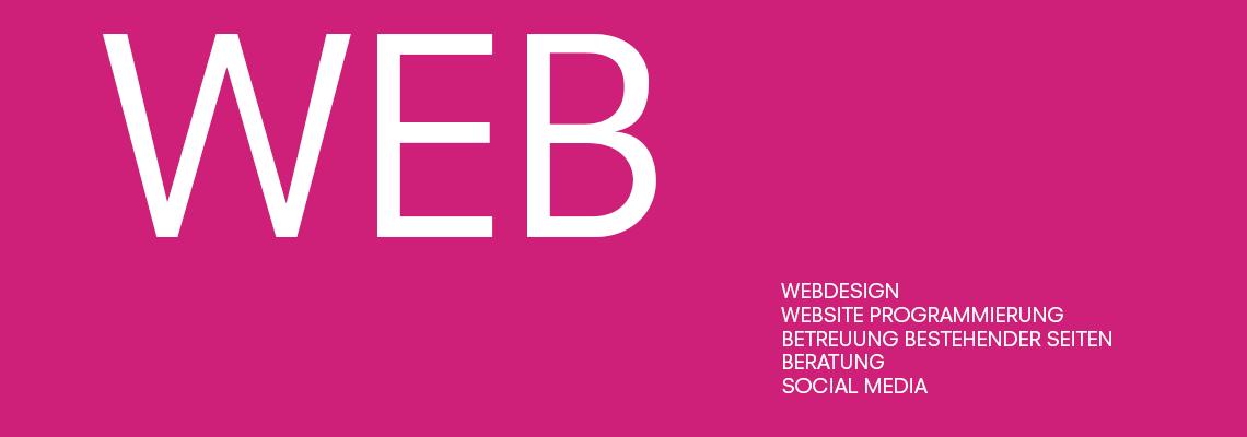 Webdesign, Website Programmierung, Betreuung bestehender Seite, Beratung, Social Media