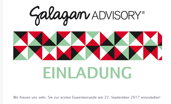 Email Newsletter Galagan ADVISORY