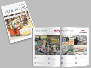 Blue Notes Logistikausgabe 01/2017 für BÖWE SYSTEC