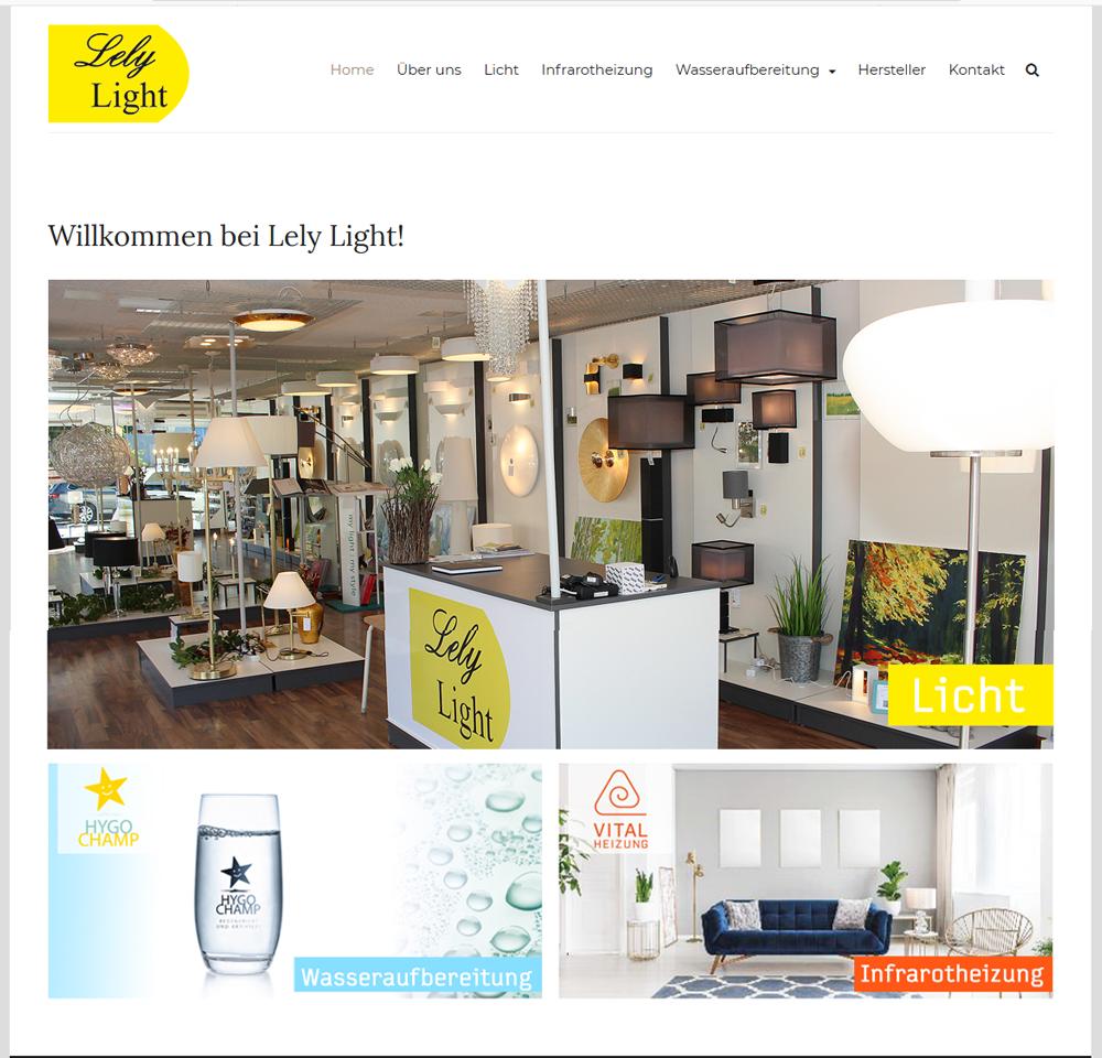 Website Lely Light