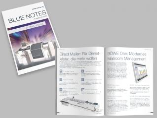 Firmenzeitschrift Blue Notes 01/2016 für BÖWE SYSTEC