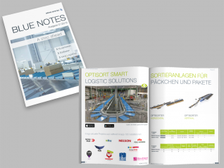 Firmenzeitschrift Blue Notes 01/2018 für BÖWE SYSTEC